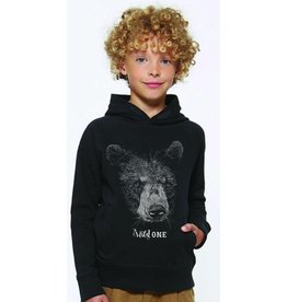 Lion of leissure Bear black hoodie