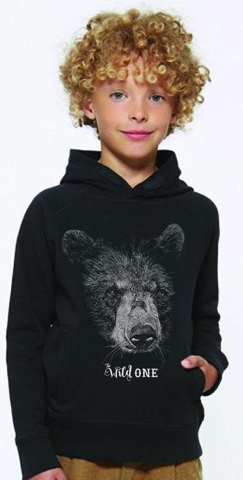 Lion of leissure Bear black hoodie