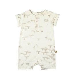 Red Caribou Serengeti Short Sleeve Combishort