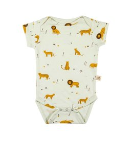 Red Caribou Milky Green Onesie