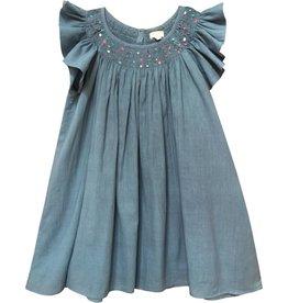 Moon et Miel Blue Liora Dress