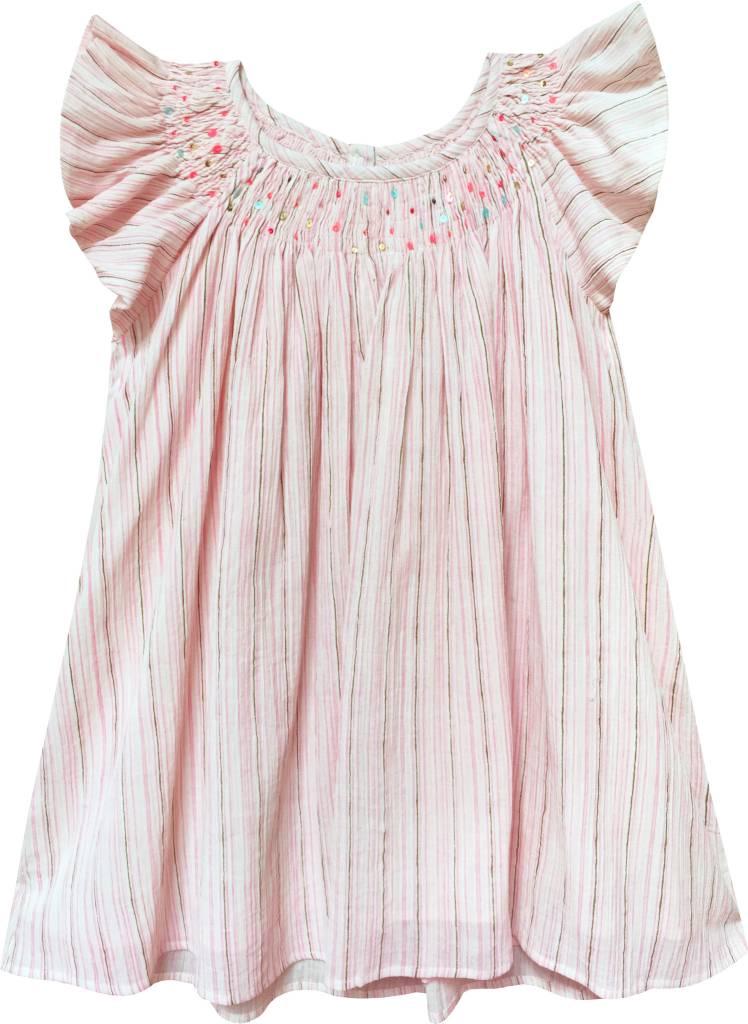 Moon et Miel Striped Liora Dress