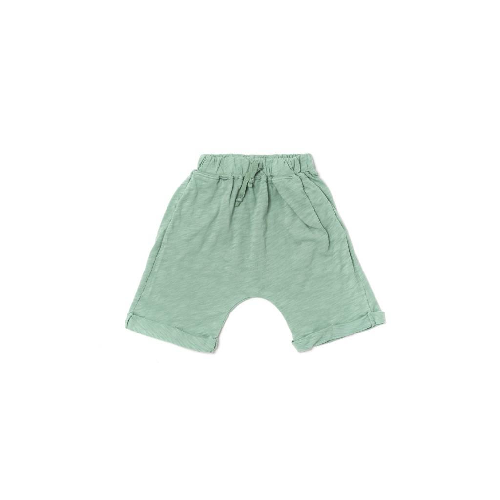 Kira Kids Celadon lounge shorts