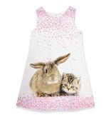 Anne Kurris Paper bunny white dress