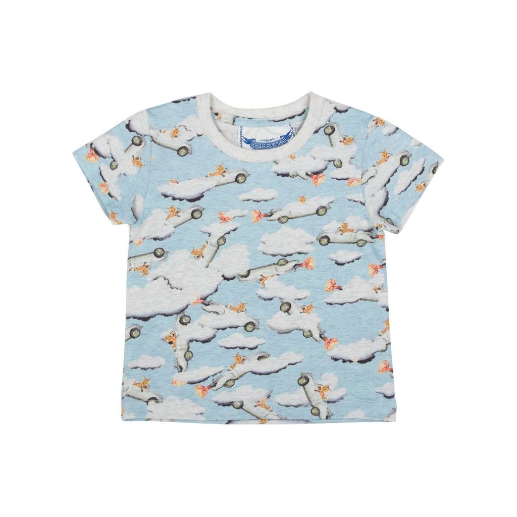 Paper Wings Fox Sonic Tee