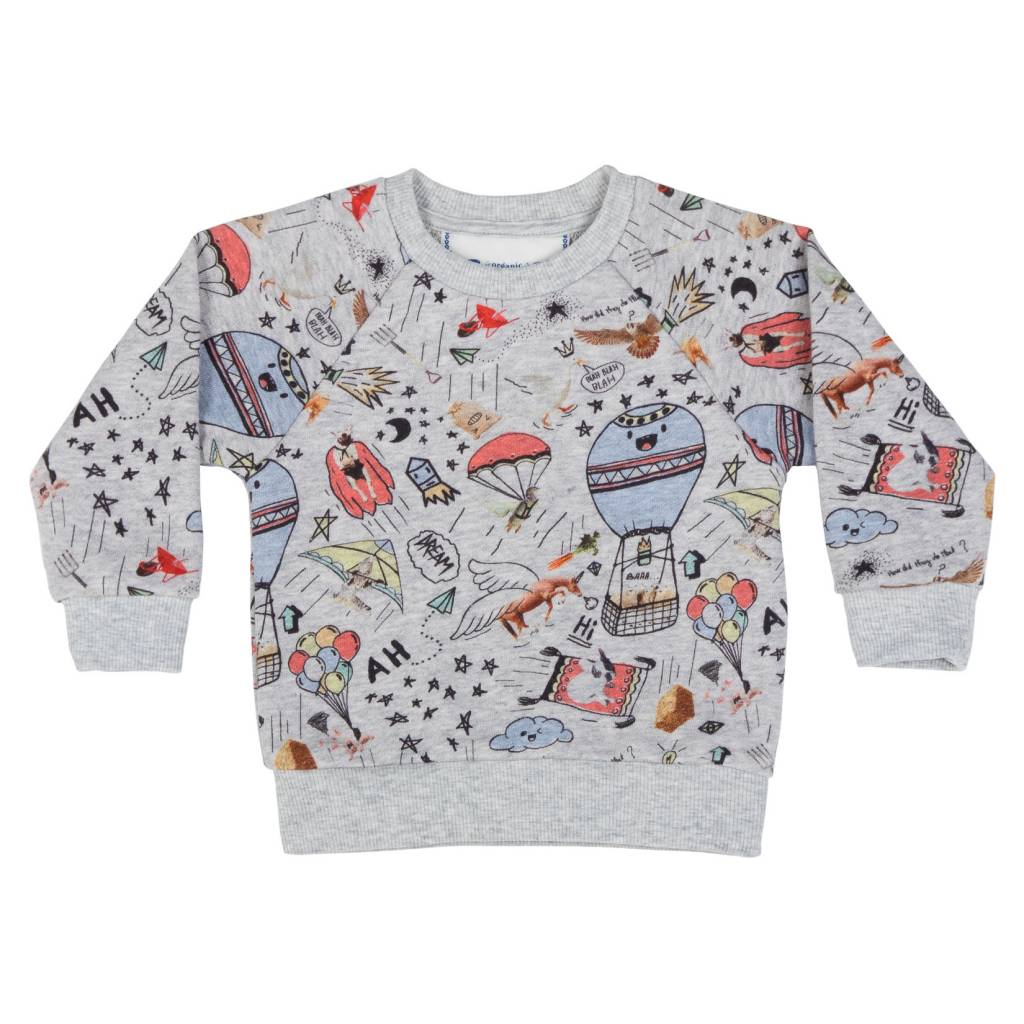 Paper Wings Funny Farm Sweater