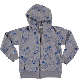 Picnik Fish print hoodie