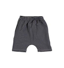 Picnik Grey stripe baby shorts