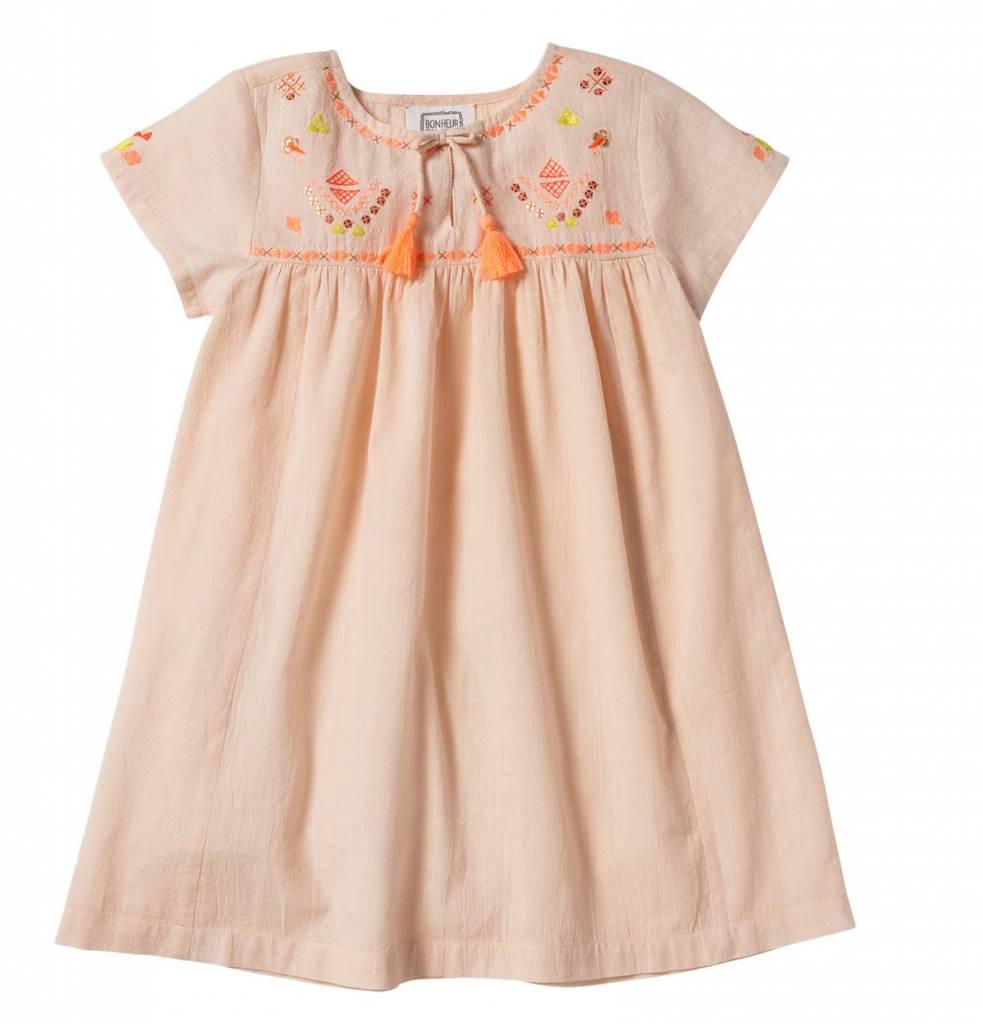 Bonheur du Jour Flavie pink dress
