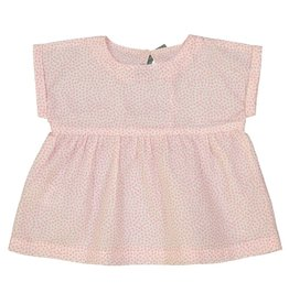 Petite Lucette Pierrette top blush leaves