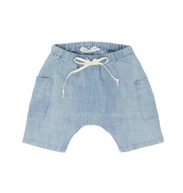 Babe & Tess Light chambray shorts