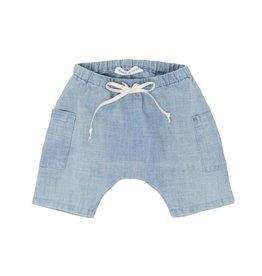 Babe & Tess Light chambray shorts