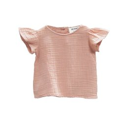 Go Gently Desert pink flutter blouse!