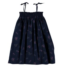 Stay Little Flowers Peter Pan dress