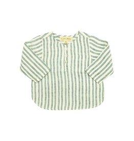 la petite collection Striped linen henley
