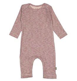 Kid Case Striped Pink Long Onesie