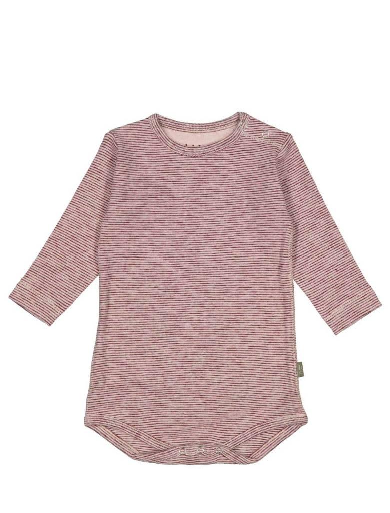Kid Case Striped pink onesie