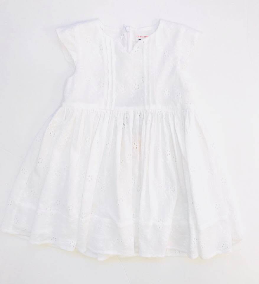 Morley Docka dress white