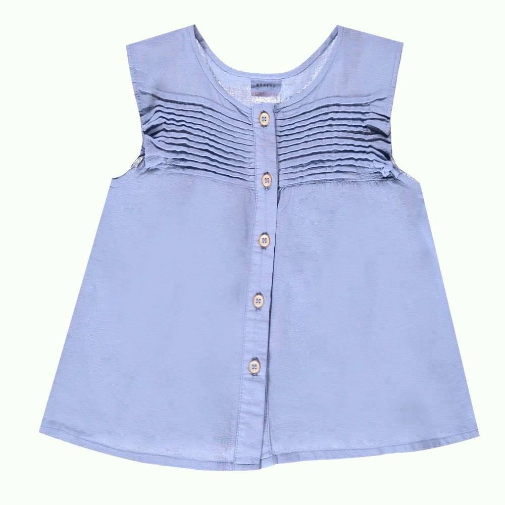 Morley Hollie blouse blue