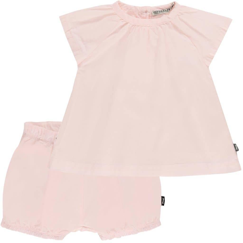 Imps & Elfs Baby pink dress