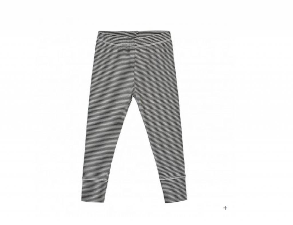Gray Label B/W Stripe Leggings