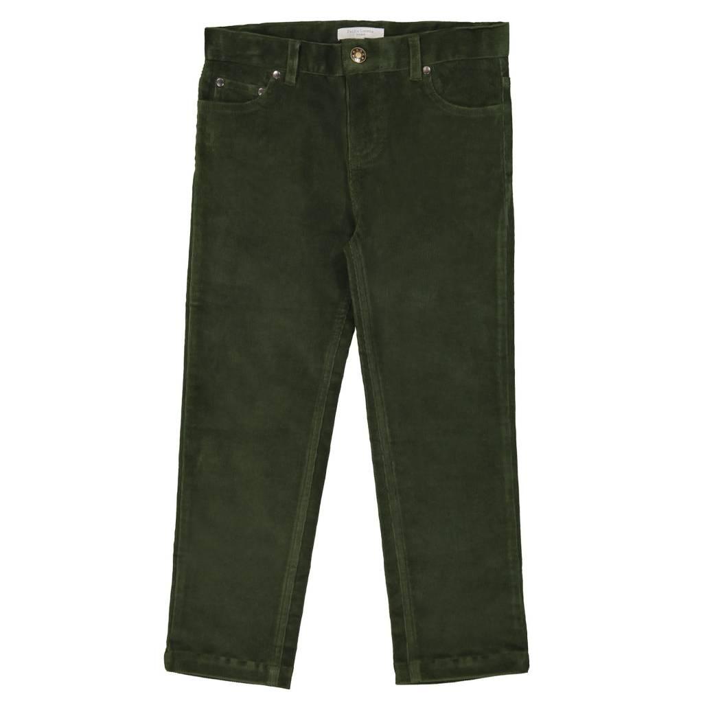 Petite Lucette Moss corduroy pants