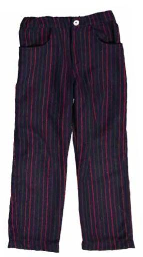 Mademoiselle à Soho Red stripes pants