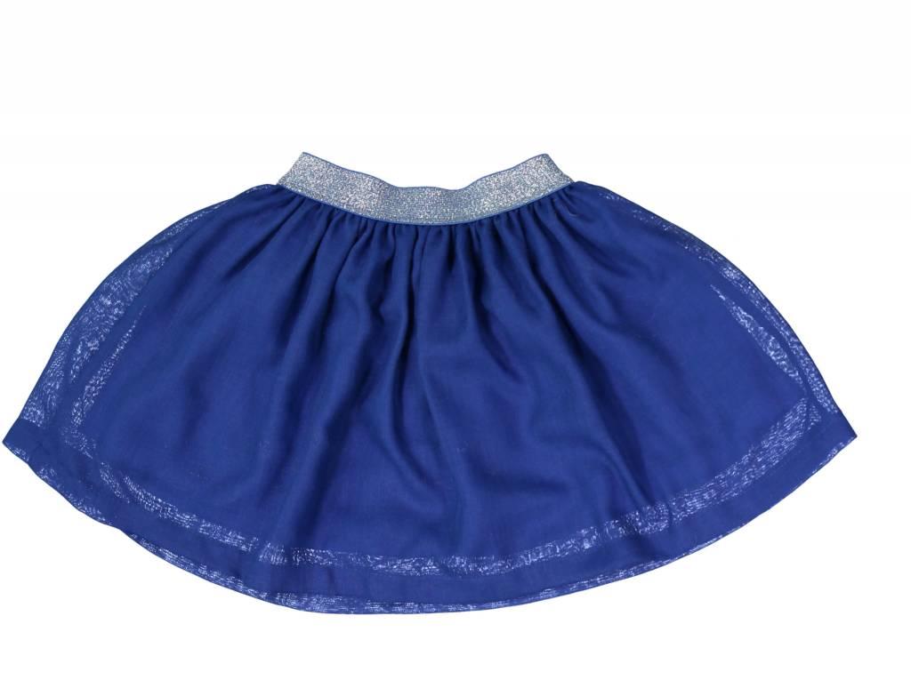 Mademoiselle à Soho Blue royal skirt