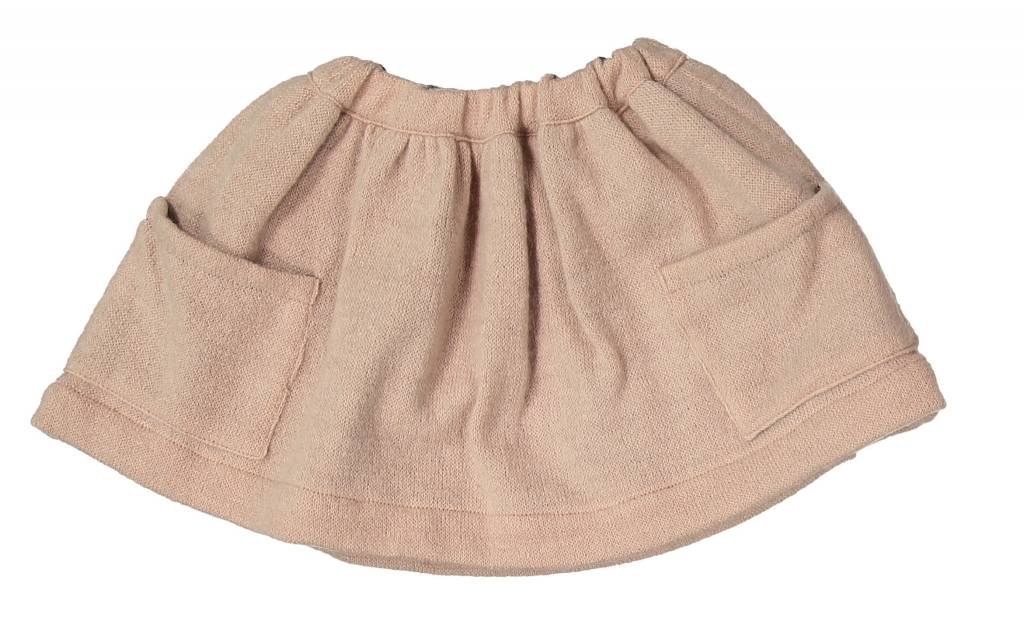 Mademoiselle à Soho Pink trapez skirt