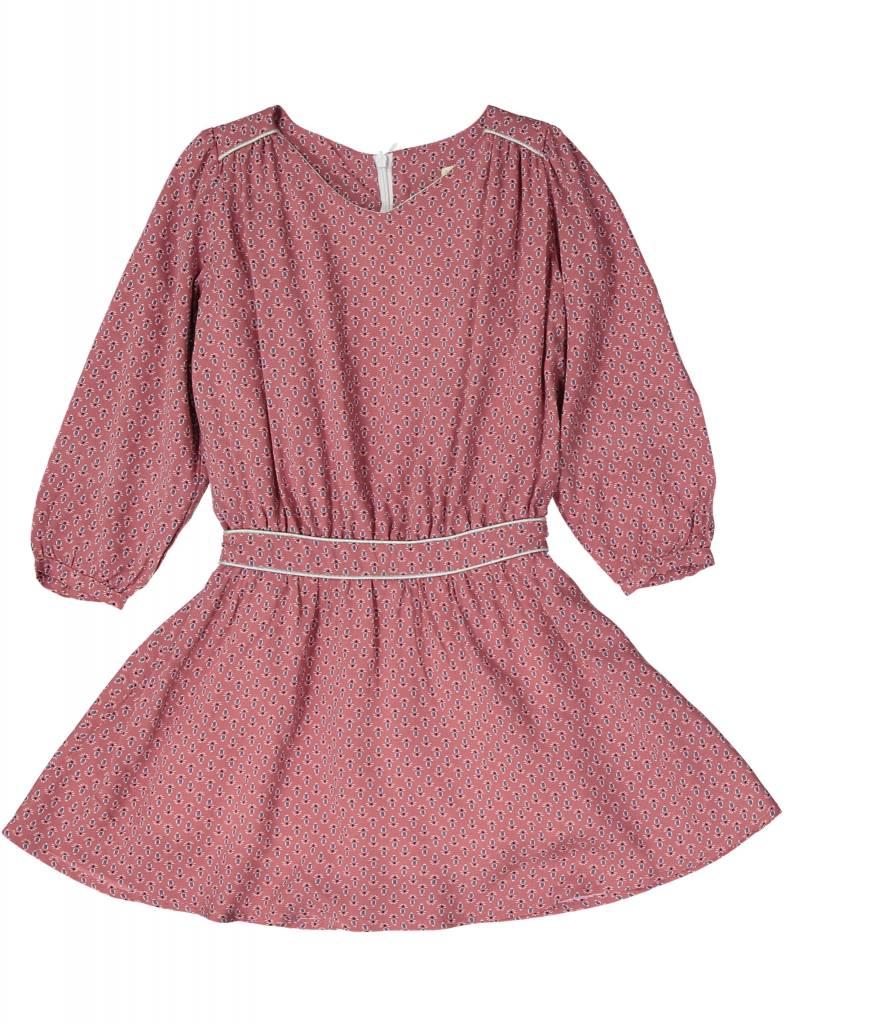 Mademoiselle à Soho Sisi dress pink