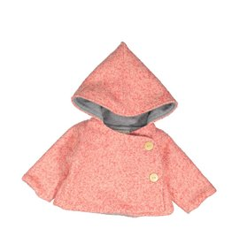 Mademoiselle à Soho Pink chaperon coat