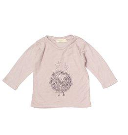 Mademoiselle à Soho Pink tee sheep print