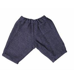 Mademoiselle à Soho Navy tweed pants