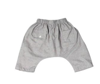 Mademoiselle à Soho Grey dust cotton pants
