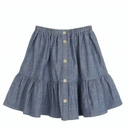 Emile et Ida N035 Chambray skirt