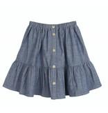 Emile et Ida N035 Chambray skirt