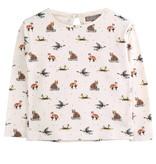 Emile et Ida Animal Sledge tshirt bb