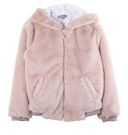 Emile et Ida N107 Pink coat