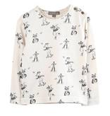 Emile et Ida N042 Tshirt ecru fox