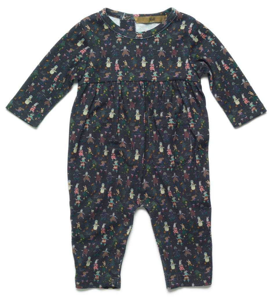 Gold Kuma romper steel