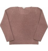 Moon et Miel Sweater rose dark blush