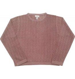 Moon et Miel Sweater rosie dark blush