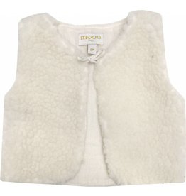 Moon et Miel Oscar vest winter white