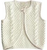 Moon et Miel Cesar vest winter white