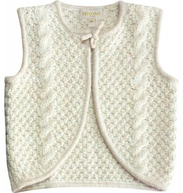 Moon et Miel Cesar vest winter white