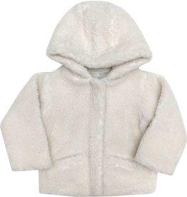 Moon et Miel Pipou coat white