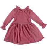Anne Kurris Rosa dress shine rose