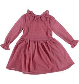 Anne Kurris Rosa dress shine rose