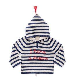 Oeuf Striped Dream Hoodie