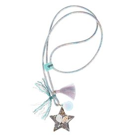 Ooahooah Shell necklace blue